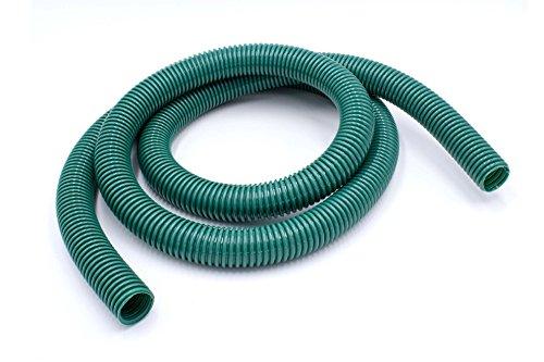 vhbw XL Universal Staubsauger Schlauch 32mm grün für Staubsauger von Philips, AEG, Electrolux, Dirt Devil, Rowenta, DeLonghi, Miele, Bosch, Siemens.
