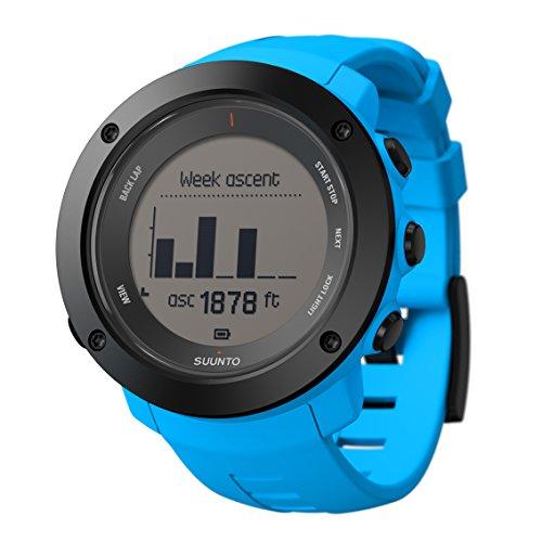 スント(SUUNTO) 腕時計 アンビット3 バーティカル ブルー 10気圧防水 GPS 高度/方位/速度/距離計測 [日本正...