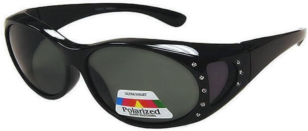 Womens Polarized Ranking TOP1 Sunglasses that Regular store Fit Prescription Glasses F Over