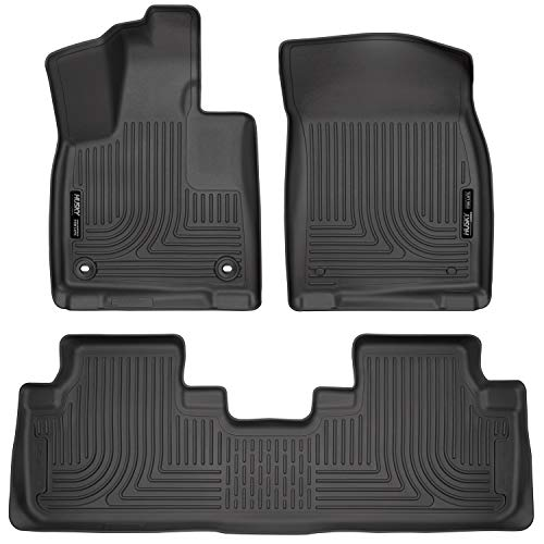 Husky Liners Fits 2016-19 Lexus RX350/RX450h Weatherbeater Front & 2nd Seat Floor Mats