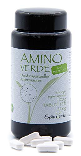 AminoVerde Aminosäure Tabletten, Vegan (120 Tabletten)