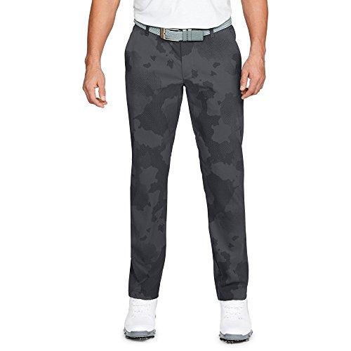 Under Armour Men's Showdown Pattern Tapered Pants, Rhino Gray (078)/Rhino Gray, 32/32
