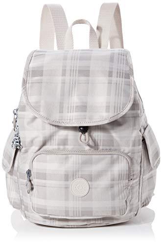 Kipling Womens City Pack S Backpacks, Soft Plaid, 27x33.5x19 cm (B x H x T)