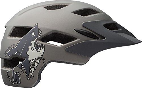 ell Sidetrack Youth Bike Helmet - Matte Titanium...