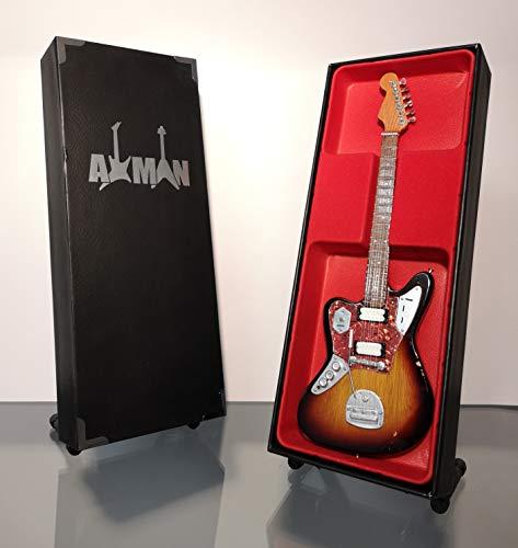 Kurt Cobain (Nirvana): 1965 Jaguar - Réplica de guitarra en miniatura