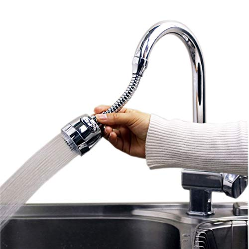 Rotable Ajustable 5 UNIDS/Set Cocina Cocina CAPEZA DE CAPETARIO Extensión del Grifo Splash Filtro de Agua Agua Ahorro de Agua con Cabezal de Ducha de Espuma Accesorios de Grifo F870
