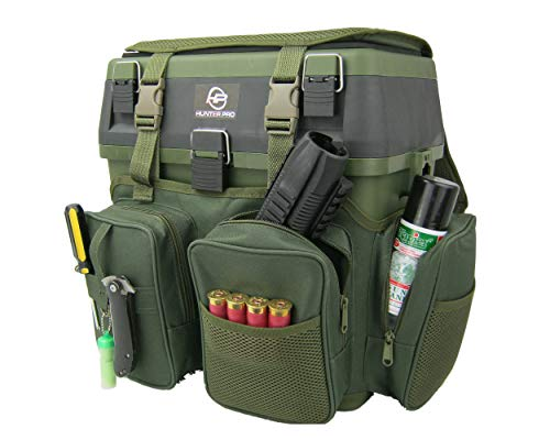 Hunter Pro Shooting & Hunting Ammo Box Rucksack. Rifle Range Tool Box Gun Case Backpack Bag