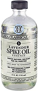 Chelsea Classical Studio Lavender Spike Oil Essence - Natural Solvent Non-Toxic Natural Processed Lavender Spike Oil Essen...