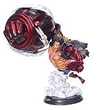 Wild HZ One Piece Action Figure GK Super Big King Monkey D. Luffy Toy Model Decoration-39cm