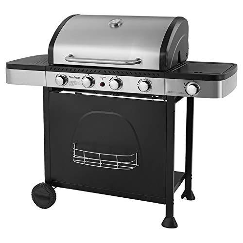 Happy Garden Barbecue au gaz Houston - 4 + 1 brûleurs avec thermomètre