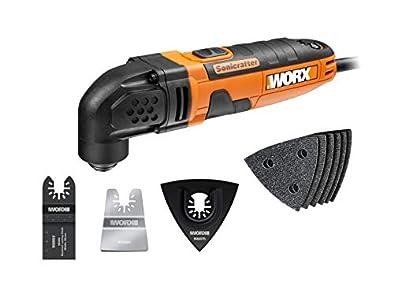 WORX WX668 Multiherramienta Sonicrafter HL250W, Negro