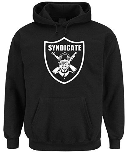 Certified Freak Syndicate Hooded-Sweater Black M