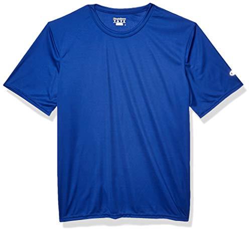 Champion Men's Short Sleeve Double Dry Performance T-Shirt, Royal Blue, XXX-Large