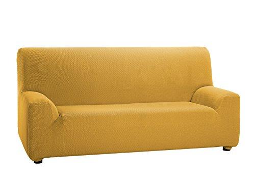 Martina Home Tunez - Funda elástica para sofá, Oro, 1 Plaza (70-110 cm)