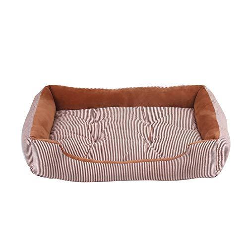 NANANANA 1 cama cálida para perros pequeños, medianos y grandes, suave alfombrilla para perrera, cachorro, cama cálida de felpa, acogedora, almohadilla para casa para mascotas