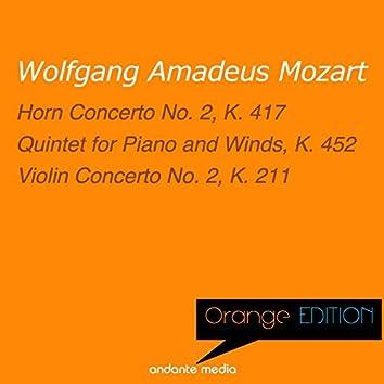 Orange Edition - Mozart: Horn Concerto No. 2, K. 417 & Violin Concerto No. 2, K. 211