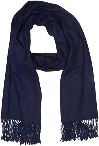 Trussardi Jeans Pashmina Knitted Sciarpa, (Blu Navy), Taglia Unica Uomo