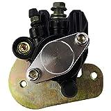 Parking Brake Brackets - M MATI Rear Brake Caliper 43250-HN1-A41 without Parking Brake for Honda SPORTRAX TRX400EX 2005-2008 TRX400X 2009 2012-2014 with Bracket & Brake Pads