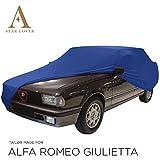Telo COPRIAUTO da Interno DESTINATO A Alfa Romeo Giulietta GARAGECOVER vestibilità Perfetta E Cover su Misura Consegna Rapida