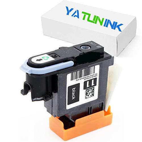 YATUNINK Remanufactured Printer Head Replacement for HP 11 Printhead 11 Black Print Head Replacement C4810A Business Inkjet 1000, 1100d, 1100dtn (1Black)
