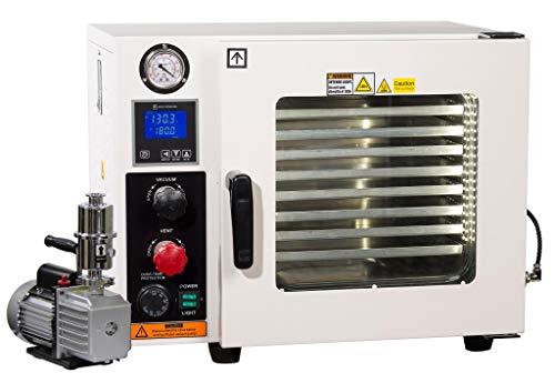 Across International Ai Vacuum Oven With 7 CFM Pump