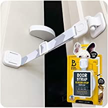 Door Buddy Door Latch Plus Door Stopper. Keep Dog Out of Litter Box and Prevent Door from Closing. This Cat Gate and Cat Door Alternative Installs in Seconds and is Easy for Cats and Adults to Use.
