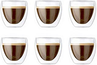 6 Pieces Double Wall Glasses (small)