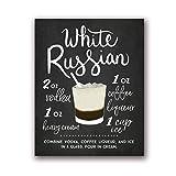 NRRTBWDHL Weiße Russische Tafel Cocktail Mit Rezept