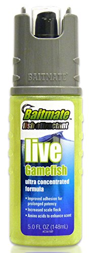 Baitmate Live Gamefish Scent Fish Attractant, 5 Fluid-Ounce