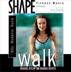 Walk Plus 1-80's-Modern Rock by Shape Fitness Music (2000-03-14)