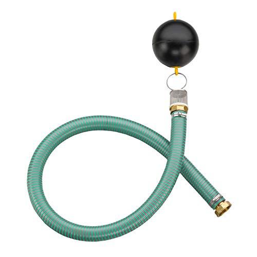 3P Technik Filtersysteme Schwimmende Drossel für Retention 1 1/2 Zoll für einen regelmäßigen, vorher definierten Abfluss aus der Zisterne BZW. Regenwassertank in die Kanalisation