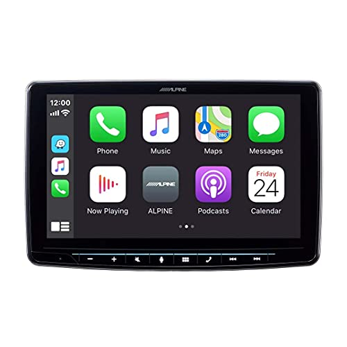 Alpine iLX-F309 HALO9 9' AM/FM/audio/video Receiver w/ 9-inch Touch Screen and Mech-less Design -...