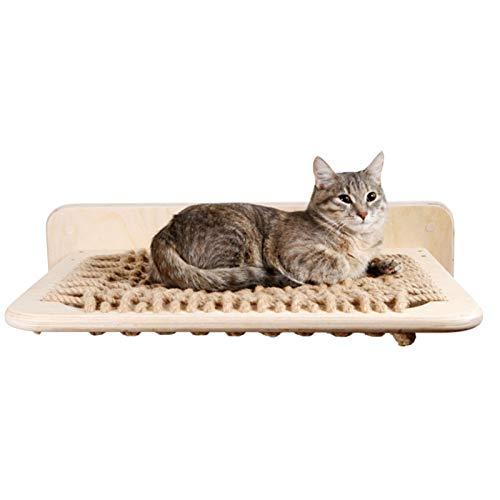 Cama Hamaca Para Gatos Percha De Gato Para Interior Estantes De Asiento De Descanso 22.83 X 17.72 X 7.84 Pulgadas Ahorro De Espacio Y Fácil De Montar Para Gato