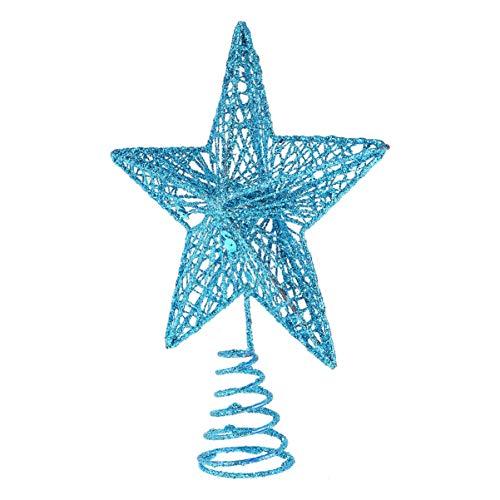 PRETYZOOM Adorno de Árbol de Navidad Brillo Estrella Árbol Adorno de Árbol...