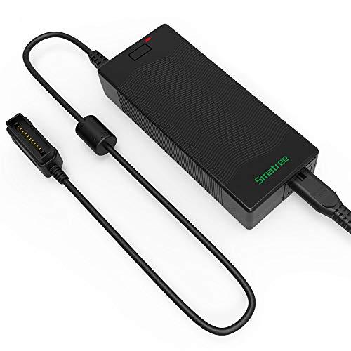 Smatree Caricabatteria per DJI Mavic 2 Pro/Zoom, alimentatore da 90W per ricarica rapida (NON per DJI Mavic Pro)