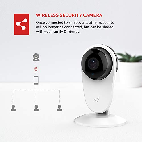 [Updated] Victure Baby Monitor 1080P FHD Home WiFi Security Camera Sound/Motion