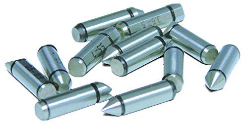 INSIZE 7321-T12 - Punto de rosca (44-28 TPI/0,6-0,9 mm, 2 unidades)