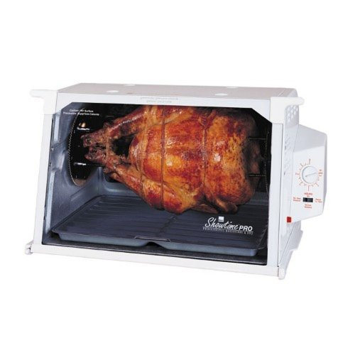 Ronco ST6000WHGEN Showtime Pro Professional Rotisserie and Barbeque Oven, White