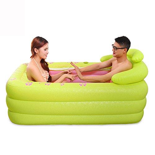 Why Choose MBJZ Double inflatable bathtub thick bath tub plastic folding shower and bath tub bath ba...