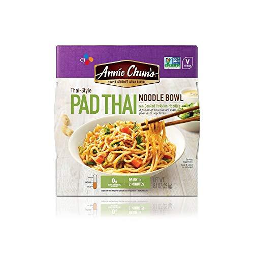 Annie Chun's Thai Style Pad Thai Noodle Bowl, 8.1 oz (231 g) (Pack of 6)