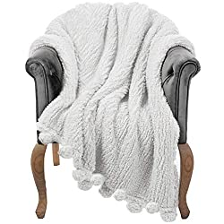 blanket thrown over a chair
