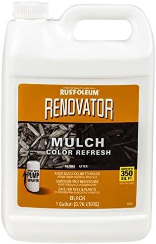 Rust-Oleum Renovator Mulch Color Semi-Transparent supreme Black Refresh 5 ☆ popular