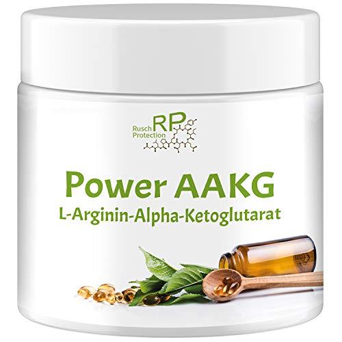 Power AAKG L-Arginin Alpha-Ketoglutarat - Einführungspreis - Hardcore 5000mg Hochdosiert - Preworkout Booster Extreme, Best Pump - Hard Work durch stärkstes Aminosäuren Pulver - Muskelaufbau
