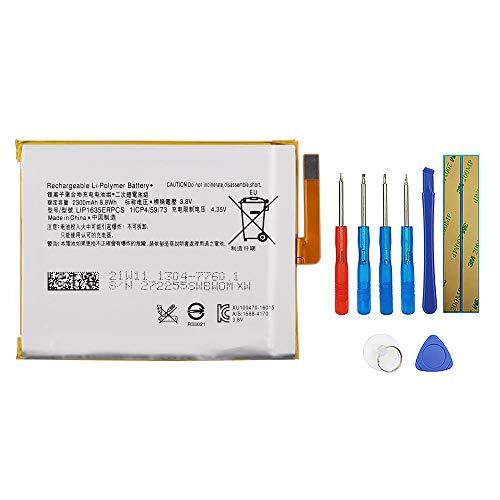Swark Batería LIP1635ERPC compatible con Sony Xperia XA1 G3121 G3116 con herramientas
