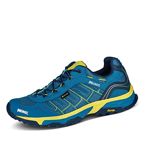 Meindl Herren Finale GTX Schuhe, blau-gelb, UK 9