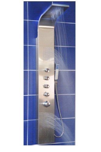 Duschpaneel Brausepaneel Duschsäule Brause mit Thermostat