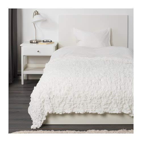 IKEA (イケア) OFELIA オフェーリア 毛布 ホワイト 601.738.56