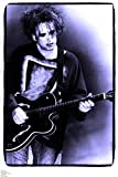 The Cure Robert Smith On Stage Glastonbury 1995 - Poster