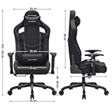 SONGMICS Bürostuhl Gaming Stuhl Schreibtischstuhl Sportsitz Chefsessel - 2