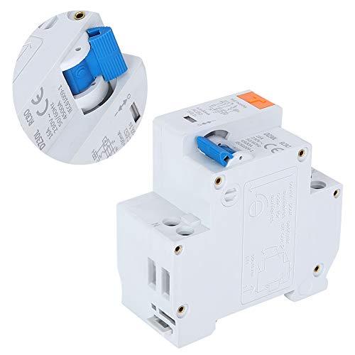 Regalo romanticoProtezione elettronica contro, Interruttore di circuito di dispersione 1P N, interruttore di corrente residua, per la protezione del sistema di distribuzione dell'alimentazione di